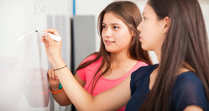 Наука помогает детям стать мастерами математики