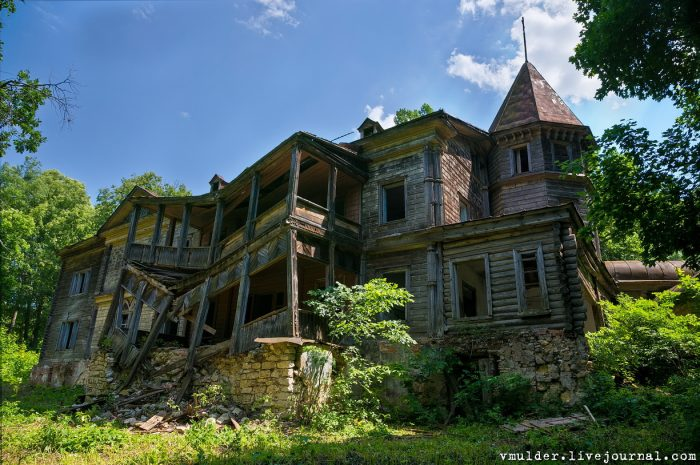 Дворец на Быковой горе: 10 разрушенных дворянских усадьб
